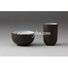 Chinesische Zisha Clay Schwarz Farbe Tee Cup Set mit besten Preisen