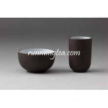 Chinese Zisha Clay Black Color Tea Cup Set With Best Prices