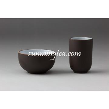 Ensemble de tasse de thé couleur noir Zisha Clay avec meilleurs prix