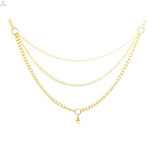 Women models of gold chains necklace, crystal floating locket chains in bulk