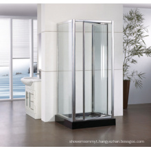 Corner Shape Tempered Glass Pivot Shower Enclosure Hf-Wap900