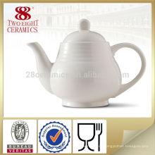 Neue Art Speisetisch-Set, feiner Knochen Porzellan Keramik weißer Kaffee Topf