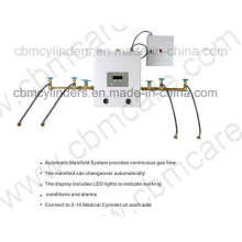 Medical Automatic O2/N2/CO2/N2o Gas Manifold Systems