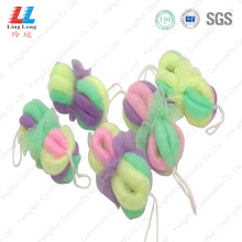 Sightly fizzy bath belt sponge