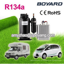 Boyard bateria dc 12 volt ac compressor para mini ar condicionado para carro