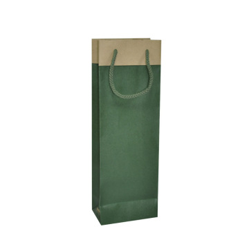 Billig pris Custom Kraft Paper Wine Packaging Bag