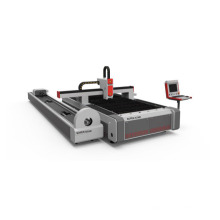 Tubo rotatorio del tablero del metal del corte del laser de la fibra 2000W