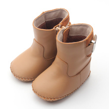Winter Leather Baby Boots