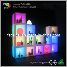 LED Cube Shelf (BCR-151C)
