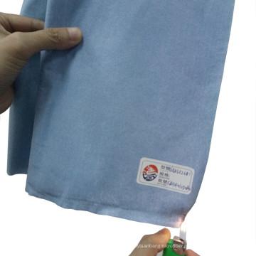 Retardante à Chama Tipo5 / Tipo6 Tecido não tecido Spunlaced Celulose & Poliéster