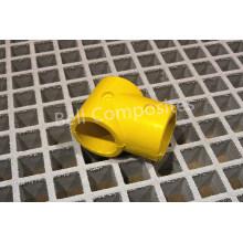 Encaixes de FRP / GRP, conectores de tubo de fibra de vidro, FRP mão trilhos acessórios.
