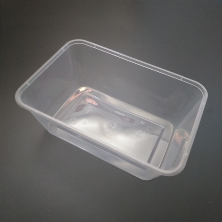 microwavable PP containers for take-out food