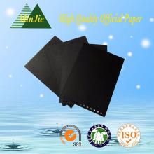 Пользовательский высококачественный черный картон