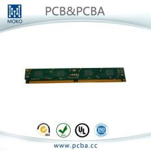 Assemblée de carte électronique de jeu de SIMM avec le paquet de BGA IC / doigt d'or