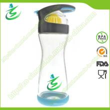 20 Oz Full Circle Glass Frasco de água limão Frasco de água