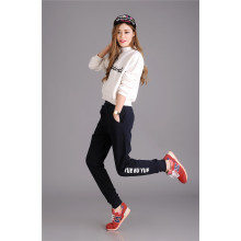 Billigt 100% bomull sweatpants anpassade jogger sweatpants
