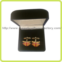 Gold Plating & Epola Colorful Customized Cuff Links