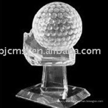 Newest design top quality cheap crystal award trophy