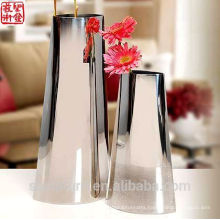 2016 New 304 Stainless Steel Abstract Flower Vase Home Decoration Potiche