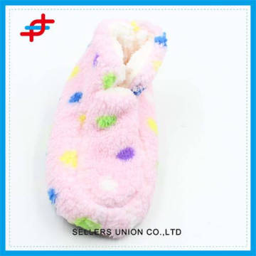 2016 cute winter home half boots for young girls,warm and thick of high quality