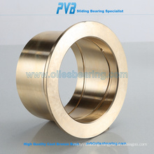 Plain Cast Bronze Bushings with collar,Brass collar bushing