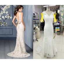 Vestido de novia de la boda