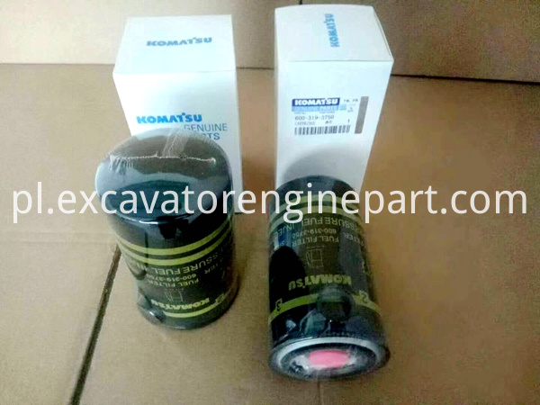 PC200-8 PC350-8 excavator cartridge fuel filter 600-319-3750