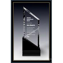 """Plaques de récompense en sports de cristal pour joueurs de voile 11 """"H (NU-CW710)"""