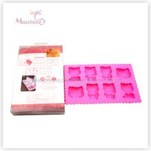 Kitty Cat Shape Plastic Ice Mold Ice Cube Tray