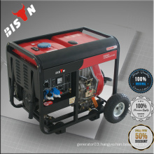 BISON China Zhejiang 2KW 230V Open Type Diesel Plant, Winter Generator for Producing Electricity