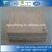 40mm Okoume Veneers Sperrholz verwendet für Tür