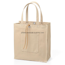 White Cotton Canvas Cossbody Bag Customize Shopping Bags Covers for Handbag Clothing Gift