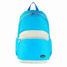Canvas School Backpack, Made of Microfiber, Suitable for Students, OEM Orders Accepted