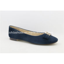 New Arrival Trendy Comfort Flat Leather Lady Shoes