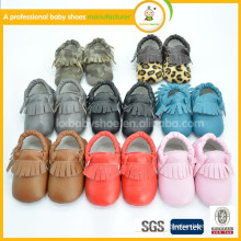 soft sole infant kids baby leather shoes baby moccasins 3-6m                                                                         Quality Choice