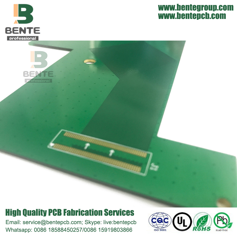 Big Size 2 Layer Prototype PCB ENIG Signal Adapter