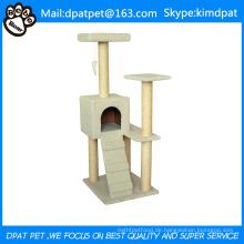 Amüsante Cat Scratcher mit Schaukel Spielzeug Großhandel Indoor Cat Furniture