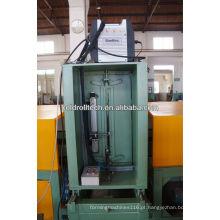 Máquina de solda ondulada automática da aleta para o uso do tanque do transformador