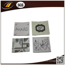 Printed Clothing Wholesale Leather Labels (HJL26)