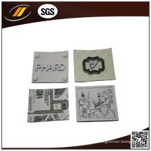 Roupas impressas grossistas de couro de couro (HJL26)