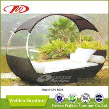 Praia / Outdoor / Garden Rattan Sunbed (DH-8605)