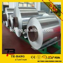 Bobine d'aluminium utilisée comme matériau de construction