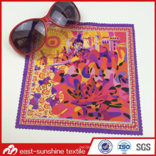 Wholesale Custom Logo Printed Beautiful Microfiber Cloth for Eyeglasses