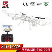 Hot selling product RC Quadcopter with WIFI fpv drone with camera Support VR BOX Glasses Helicopter SJY-1332W
