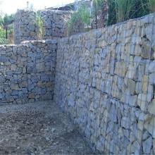 ملحومة التراب حجر السياج مربع