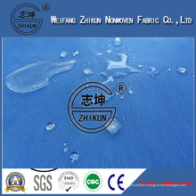 Tissu non tissé de polypropylène de stérilisation de SMS d'approvisionnement médical