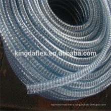 3 Inch PVC Ribbed Flexible Hose/PVC Steel Wire Reinforced Suction Hose