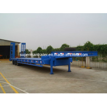 3 Axle Low Bed Cargo Truck Semi Trailer