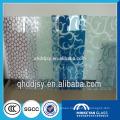 silkscreen printed glass, coloured tinted glass, pattern glass