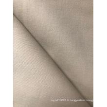 Tissu 100% coton teint en sergé double pour pantalon